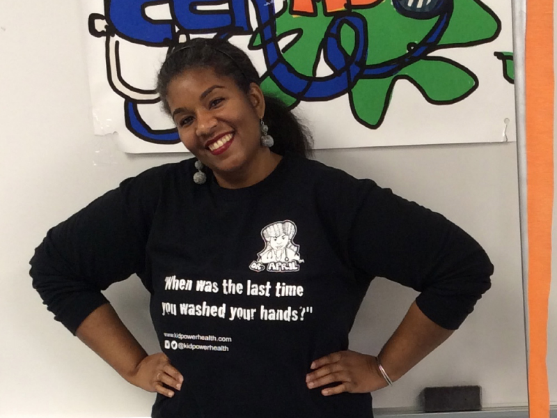 Dr. April Inniss helps kids understand how their bodies work.