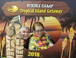Stroke survivor Liz Andersen, with husband Steve. (Photo courtesy of Steve Andersen)