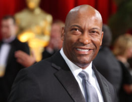 John Singleton arriving at the 2009 Academy Awards. (Frazer Harrison, Getty Images)
