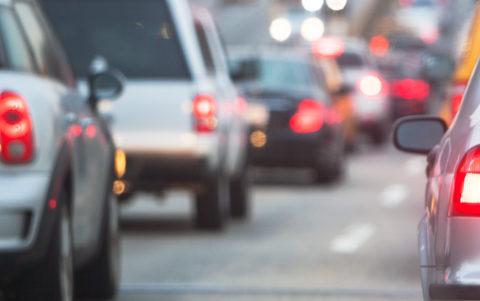 Photo of city traffic